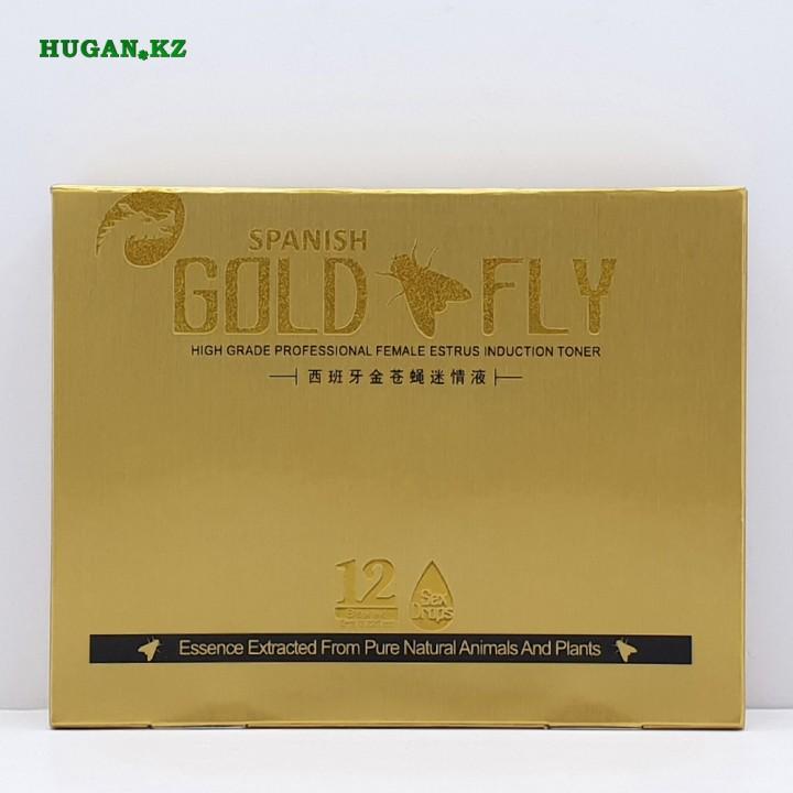 Gold Fly (Золотая Шпанская Мушка) - Возбуждающие капли для женщин 12х5мл