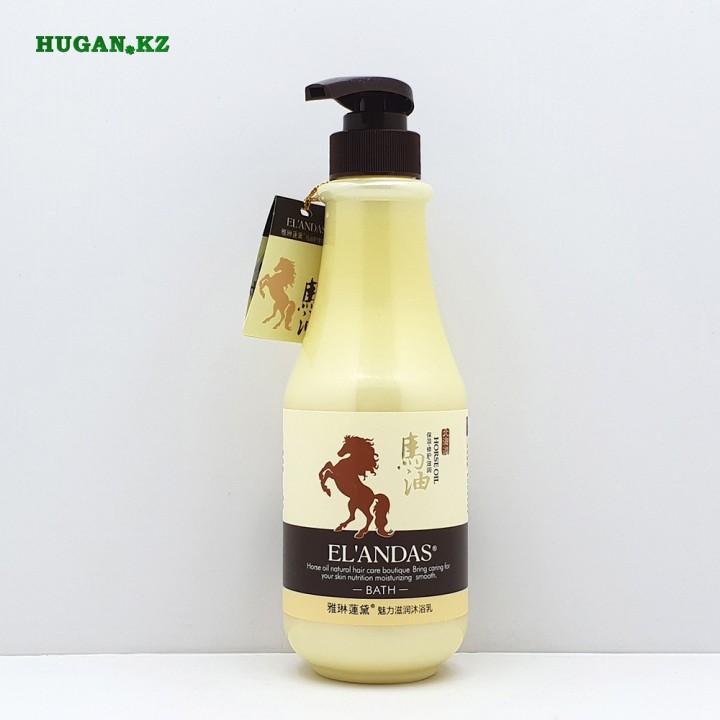 Гель для душа Elandas Лошадиное масло