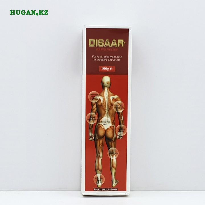 Массажный крем, Disaar «Disaar – rapid relief» (красный) (Мышечная боль, суставы)