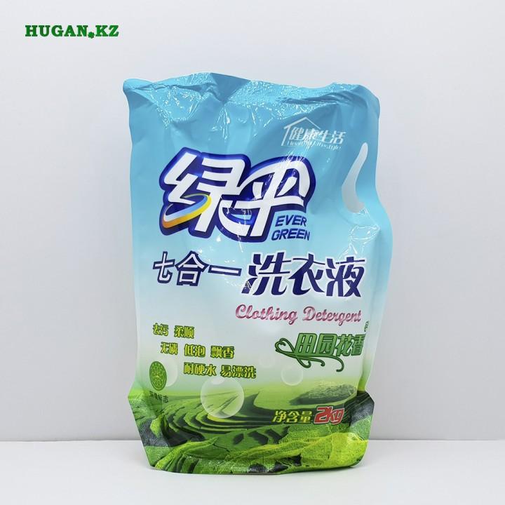 Стиральный порошок Ever Green Жидкий в мягких пакетах