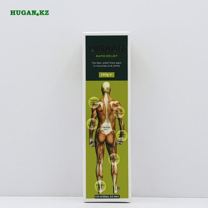 Мазь Disaar (Мышечная боль, суставы  зеленое)