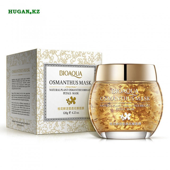 BioAqua OSMANTHUS MASK ночная маска с золотым османтусом
