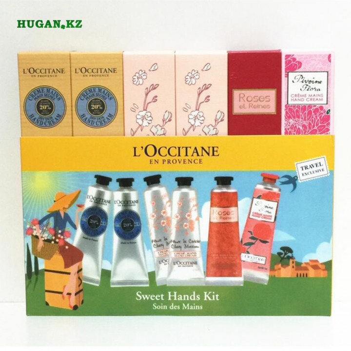 Крема для рук L'Occitane Sweet Hands Kit
