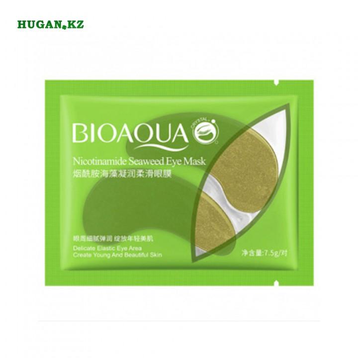 Патчи для глаз Bioaqua Nicotinamide Seaweed Eye Mask